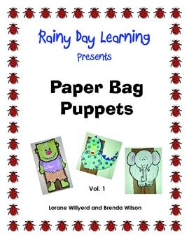 Paper Bag Puppets, Vol 1