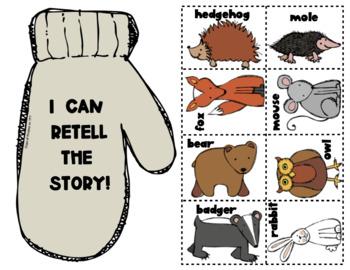 The Mitten: Paper Bag Retelling for Kindergarten & First