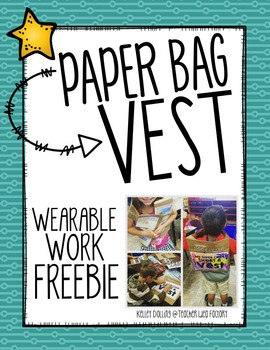Paper Bag Vest - FREE