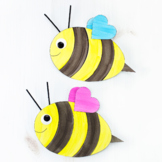 Paper Bee Craft (Summer)