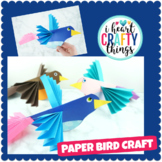 Paper Bird Craft Activity