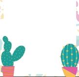 Paper Borders Printable Fun Summer