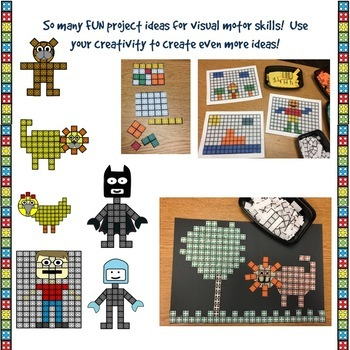 Paper Building Blocks for Visual Motor Skills