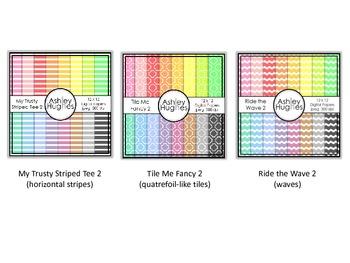 12x12 Digital Paper Bundle 2A {A Hughes Design}