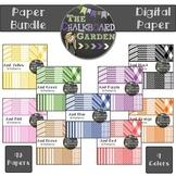 Paper Bundle A {90- 15x15 Digital Scrapbook Paper}