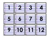 Paper Calendar Dates