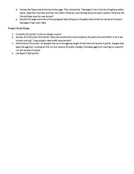 Paper Car Crash Project & Lab Report