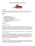 Paper Car Crash Project & Lab Report
