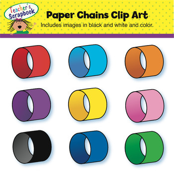 Paper Chains Clip Art