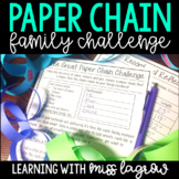 Paper Chain Family Homework Challenge STEM Project