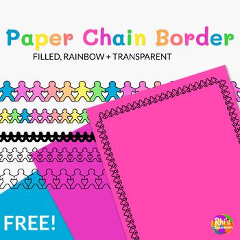 Paper Chain Page Border