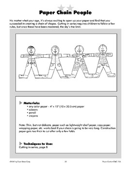Paper Chain People and Cut-Paper People