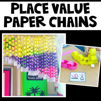 Paper Chains- Teen and Twenty Numbers