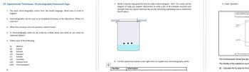 Paper Chromatography - GCSE Combined Science Experimental Techniques
