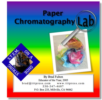 Paper Chromatography S.T.E.A.M. Lab