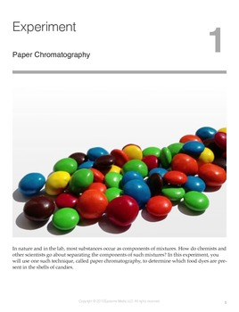 Paper Chromatography Experiment