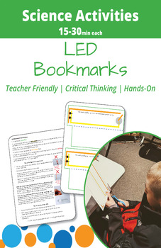 Paper Circuits: LED Bookmarks