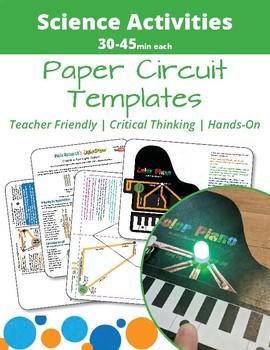 Paper Circuits Templates