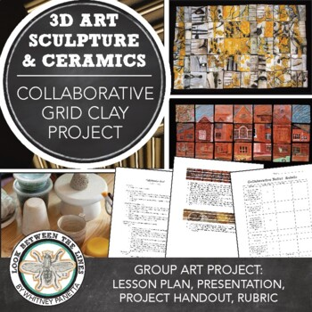 Paper Clay, Collaborative Relief Sculpture Art Project: Intro to Ceramics & Clay