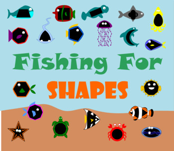 Paper Clip Fishing Shapes Edition