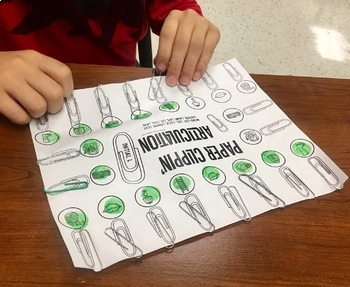Paper Clippin' Articulation: A speech therapy activity