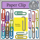 Paper Clips (JB Design Clip Art for Personal or Commercial Use)