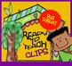 Paper Clips - School Supplies - Cliparts set - 12 Items