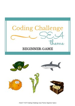 Paper Coding Challenge Beginner's Game:Sea theme