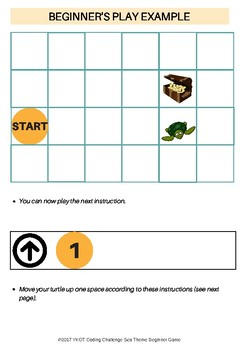 Paper Coding Challenge Beginner's Game:Sea theme