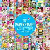 Craft Bundle - Craftivities and Paper Craft Bundle - Cut and Paste