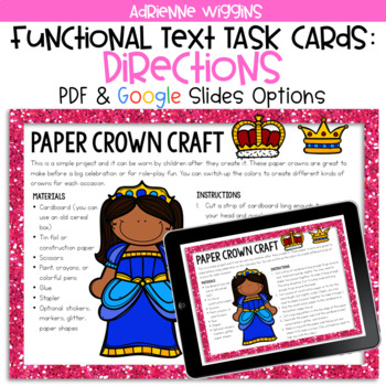 Paper Crown Functional Text Google Classroom Pdf By Adrienne Wiggins Brown crown illustration, cartoon queen crown transparent background png clipart. usd