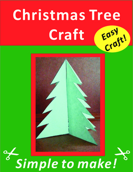 Paper Cutting Art Craft: Christmas Tree