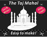 Paper Cutting Craft: The Taj Mahal