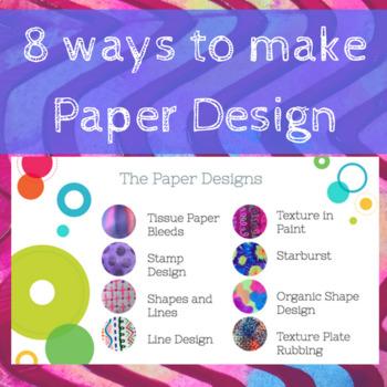 Paper Desing