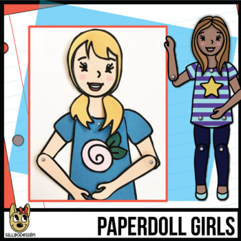 Paper Doll Craftivity: Make a Movable Girl Figure