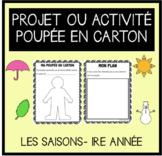 Paper Doll Project- Seasons/Poupée en carton- Les saisons (FRENCH)