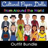 Paper Doll Costumes From Around the World