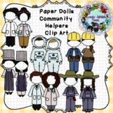 Paper Dolls: Community Helpers Clothing