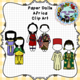 Paper Dolls: Traditional Clothing of Africa