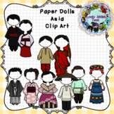 Paper Dolls: Traditional Clothing of Asia