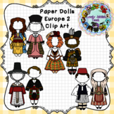 Paper Dolls: Traditional Clothing of Europe 2