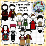 Paper Dolls: Traditional Clothing of Europe