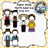 Paper Dolls: Traditional Clothing of North America