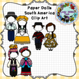 Paper Dolls: Traditional Clothing of South America