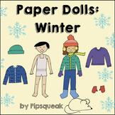 Paper Dolls: Winter
