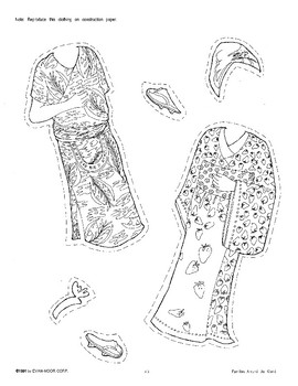 Paper Dolls and Clothing