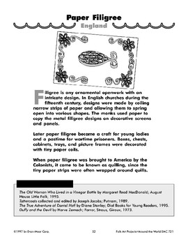 Paper Filigree and Scrimshaw
