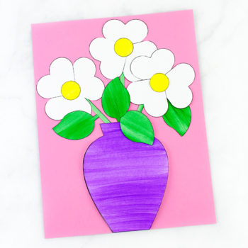 Paper Flower Bouquet (Spring, Mother's Day, Valentine's Day)