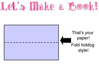 Paper Folding Instructions to make a Mini Book- great for any class, any grade!
