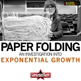 Paper Folding and Exponential Growth: An Investigation